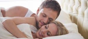 Wie Männer gut schlafen