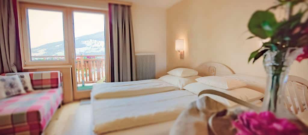 Schwaigerhof Hotelbett 1