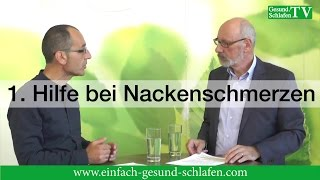 video erste hilfe bei nackenschmerzen. Black Bedroom Furniture Sets. Home Design Ideas