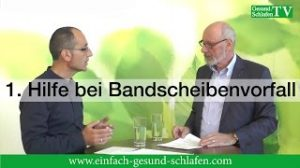 VIDEO: Erste Hilfe bei Bandscheibenvorfall bzw. Diskushernie