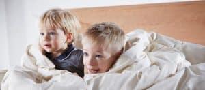 Entspanntes Zubettgehen und Einschlafen bei Kindern