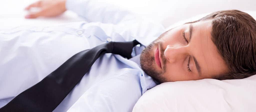 Sabbern im Schlaf / Speichelfluss