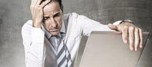 Stress im Beruf beeinträchtigt die Schlafqualität