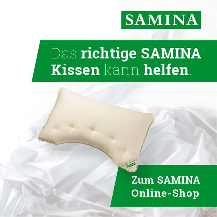 Orthopaedische Kissen von SAMINA