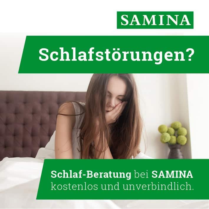 SAMINA Schlaf-Gesund-Beratung - Schlafberatung