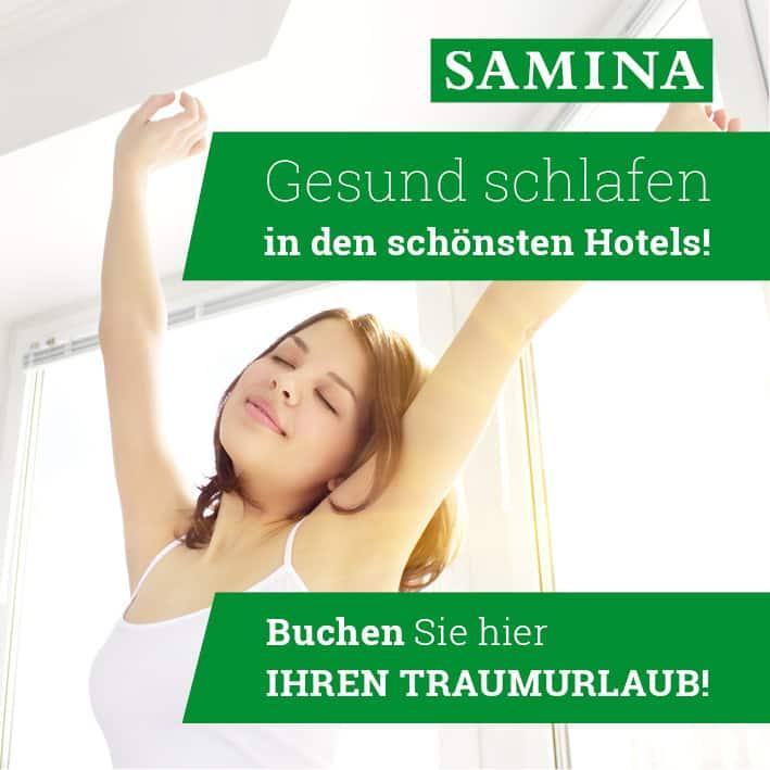 Gesund schlafen in den sch�nsten Hotels. Buchen Sie hier Ihren Traumurlaub!