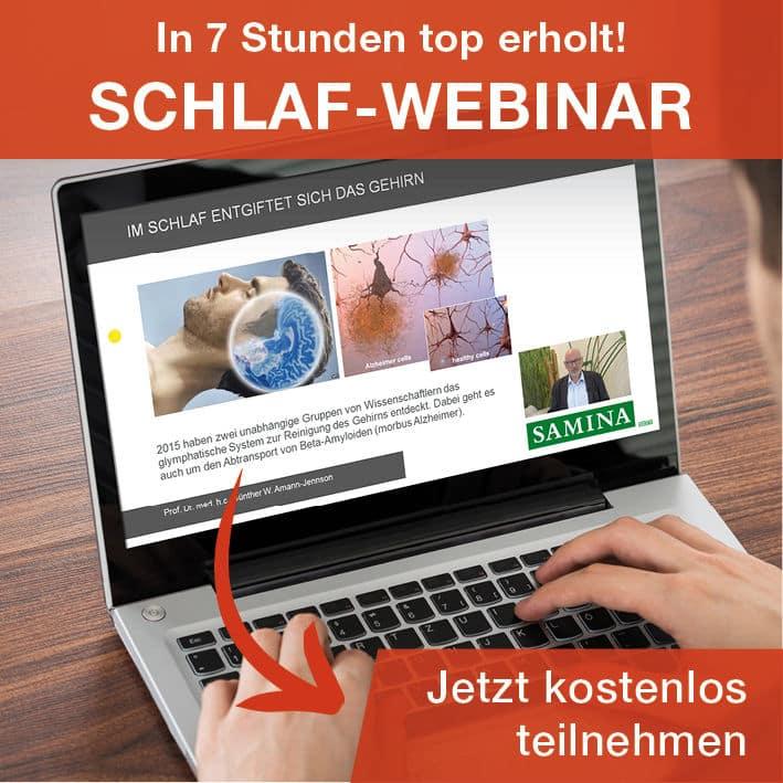 Webinar mit Prof. Amann-Jennson - Gesundheitsrisiko Schlafst�rungen